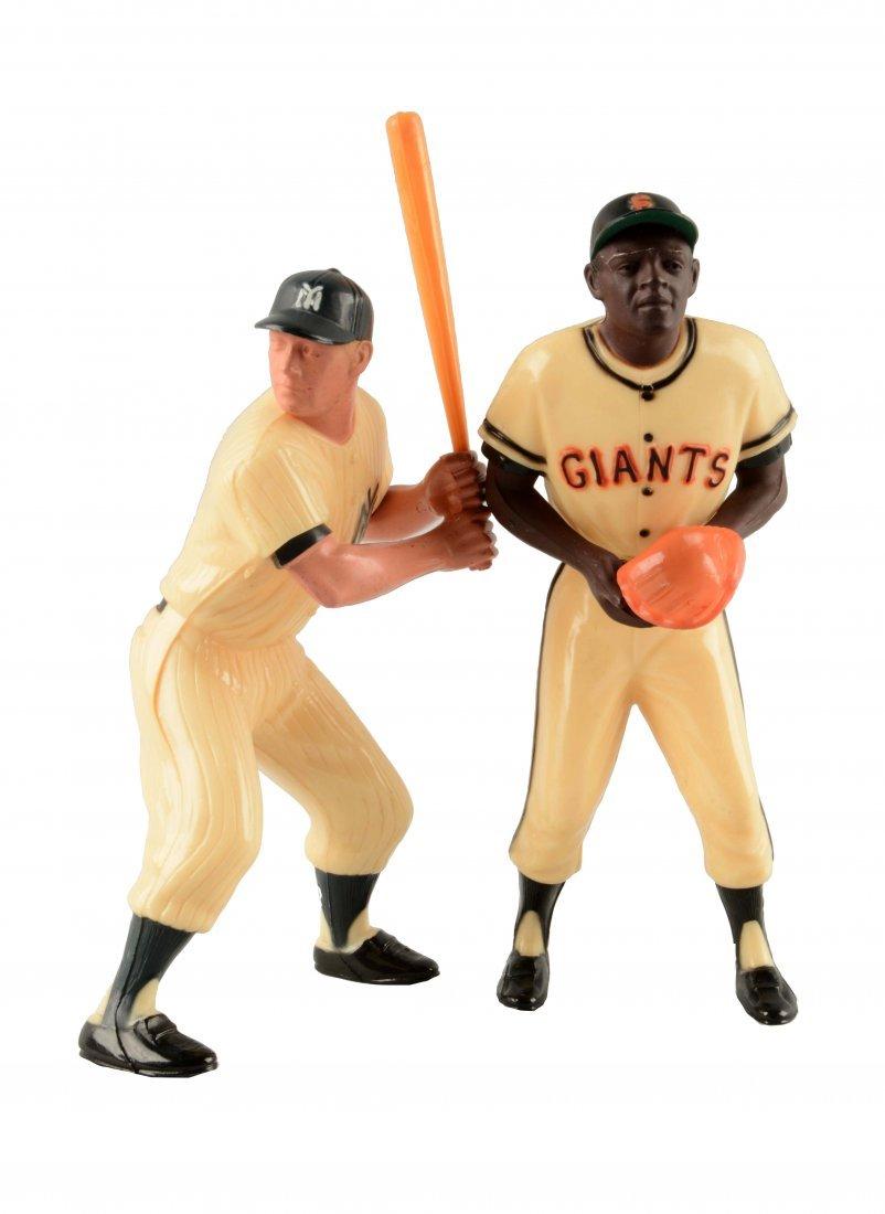 Lot Of 2: Hartland Plastic Baseball Players.