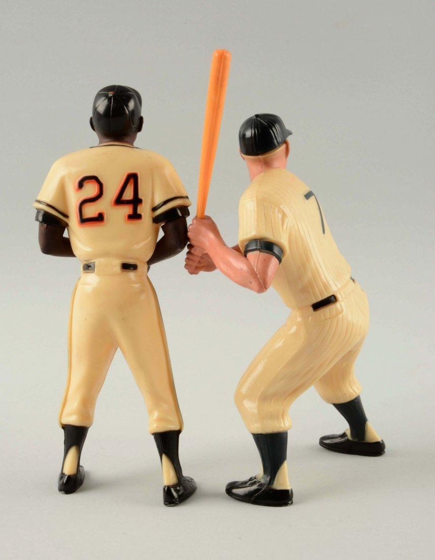 Lot Of 2: Hartland Plastic Baseball Players. - 2