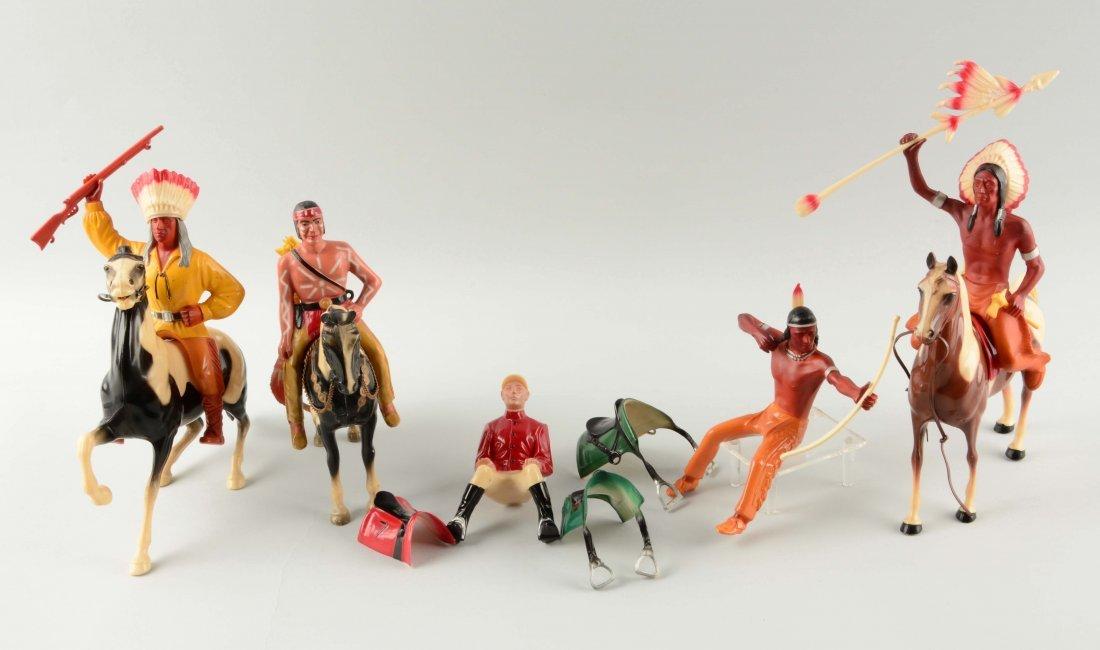 Nice Lot of Hartland Riders & Horse Figures.