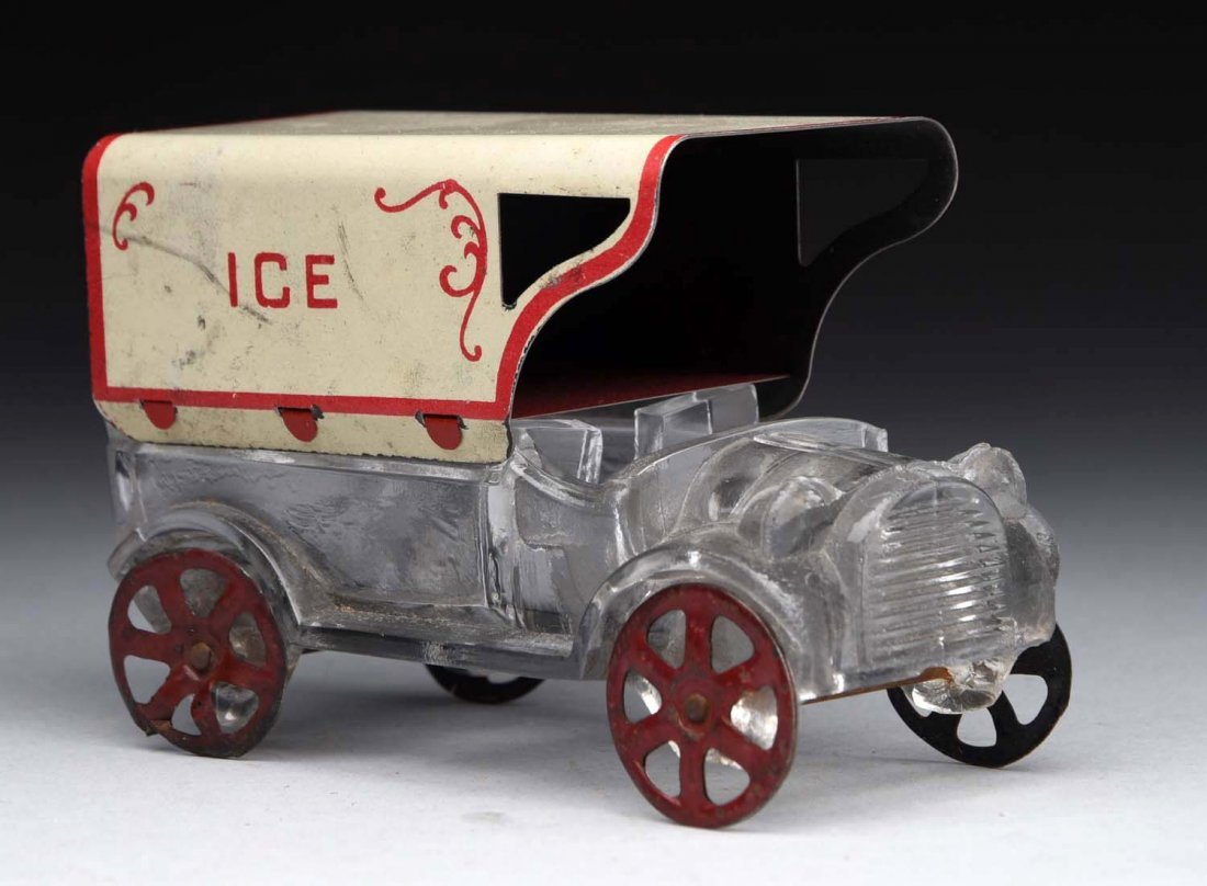 Ice Truck Candy Container.