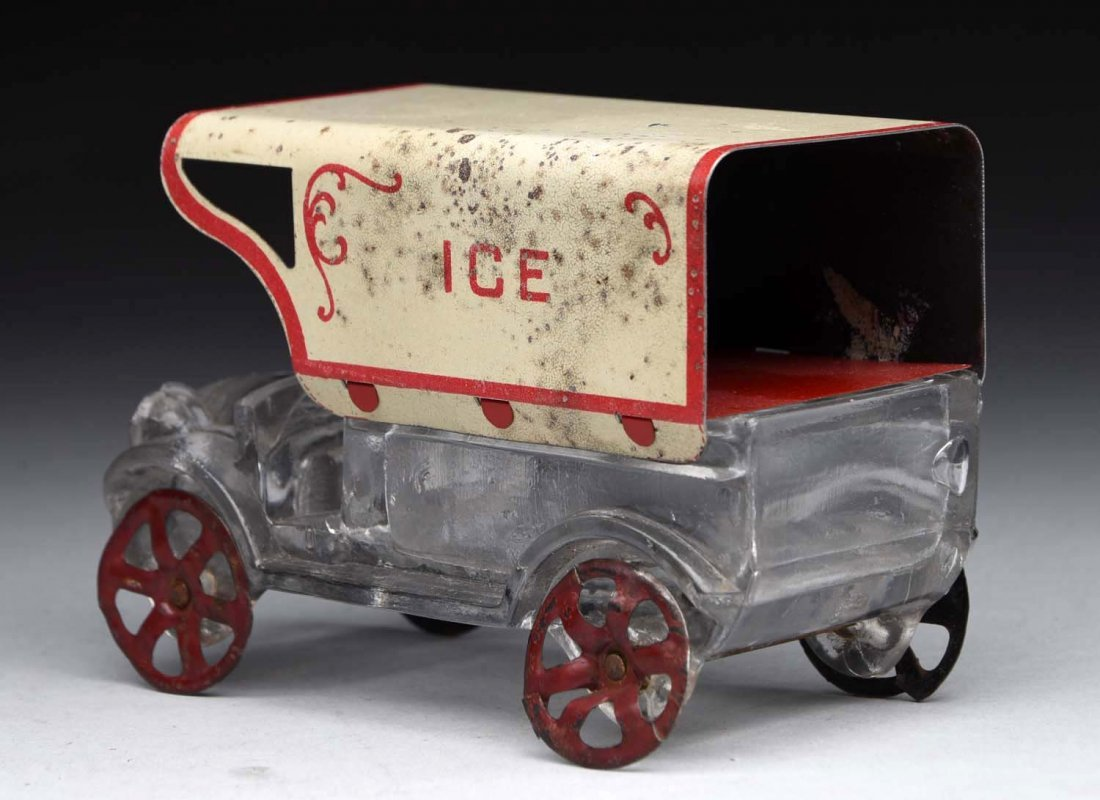 Ice Truck Candy Container. - 2