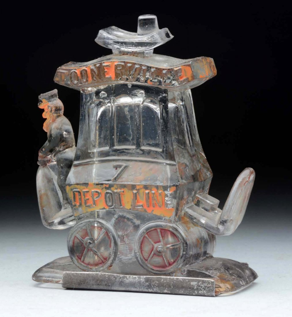 Toonerville Trolley Candy Container. - 2