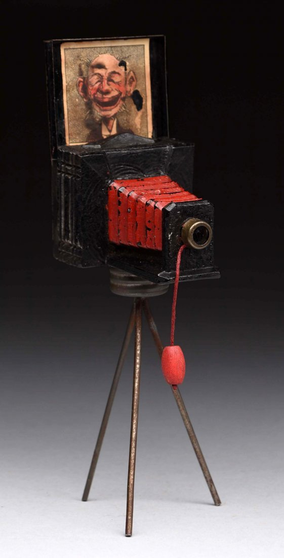 Camera on Tripod Candy Container.