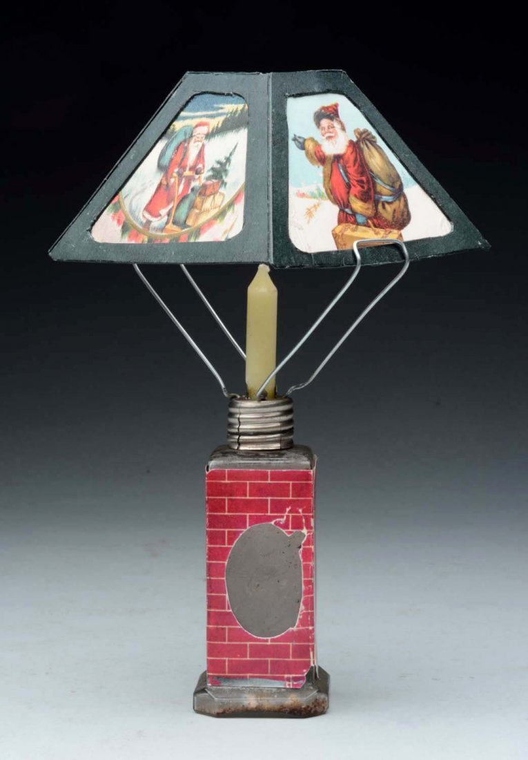 Christmas Lamp Candy Container. - 2