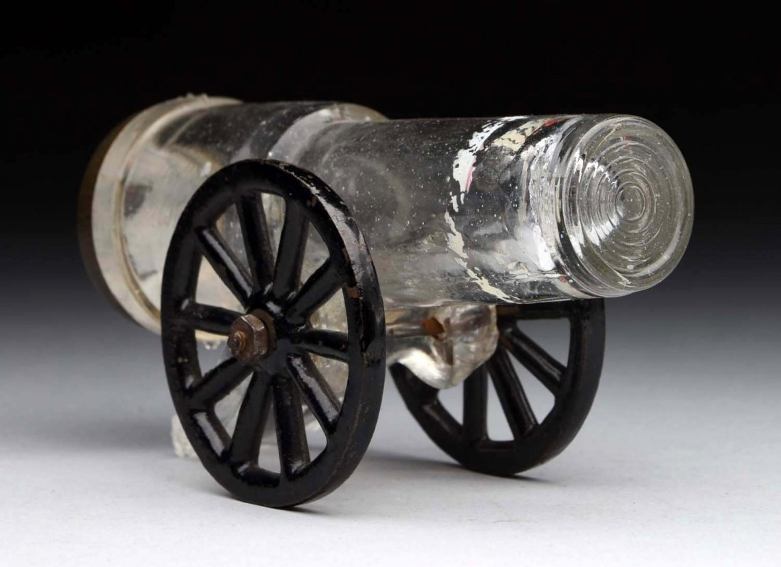 Two-Wheel Mount No. 3 Cannon Candy Container.