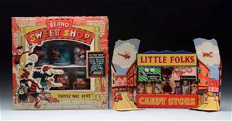 2 Boxed Sets Of Candy Containers.
