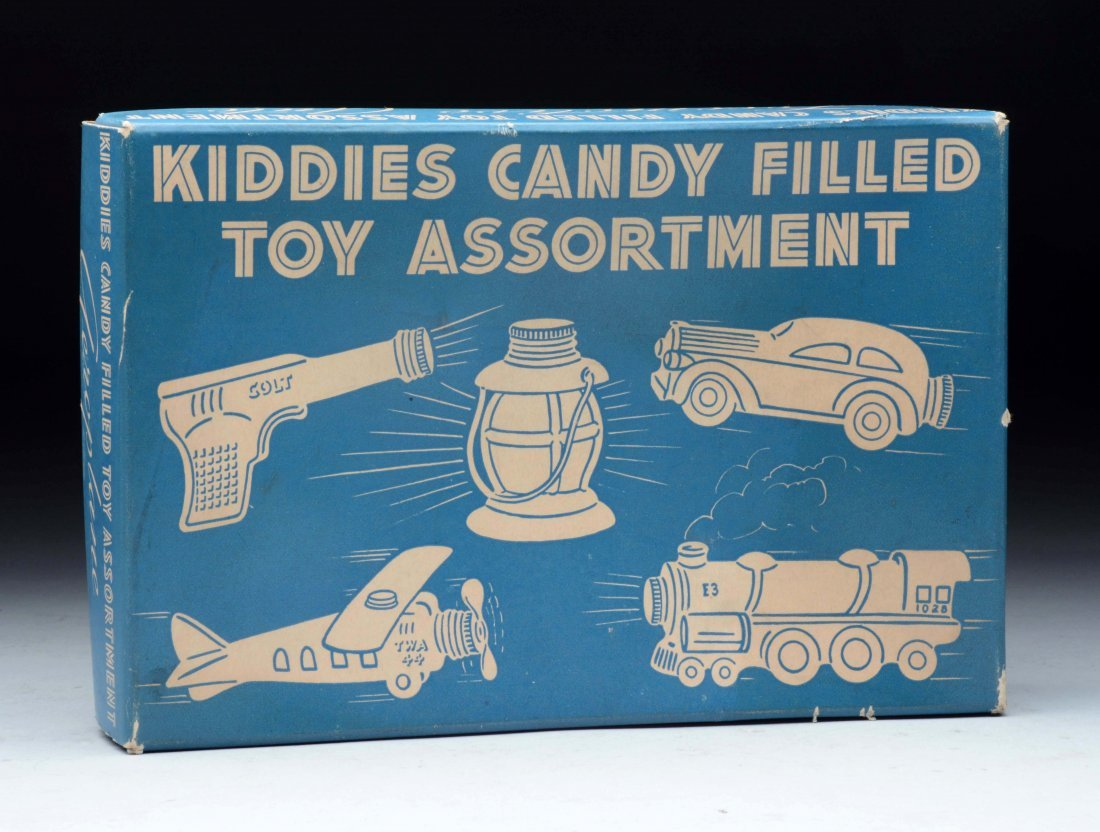 Kiddies Candy Filled Toy Assortment Candy Containers. - 2