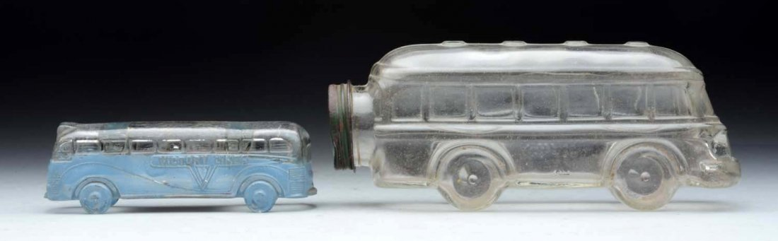 Lot Of 2: Bus Candy Containers.