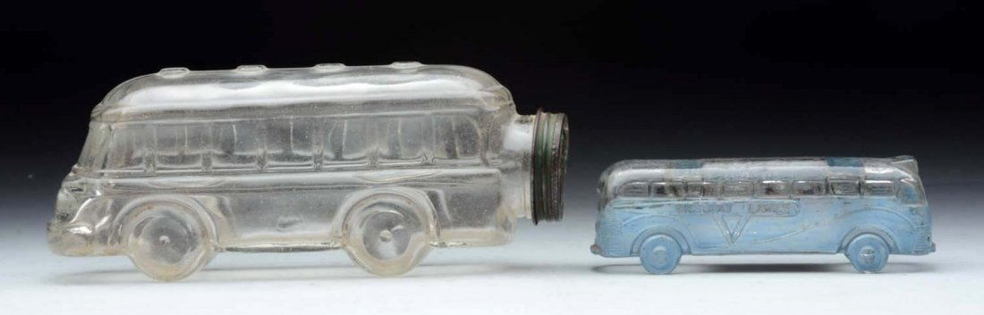 Lot Of 2: Bus Candy Containers. - 2