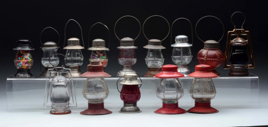 Lot Of 14: Lantern Candy Containers.