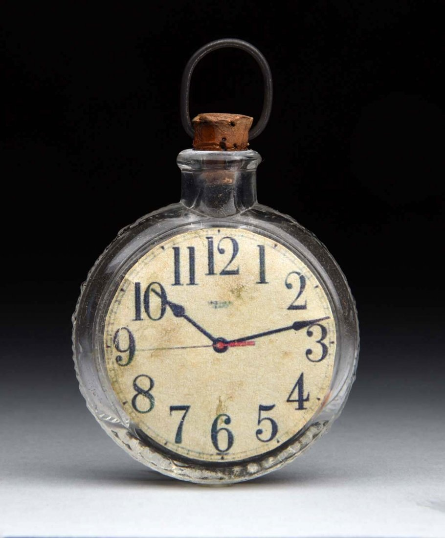 Pocket Watch Candy Container.
