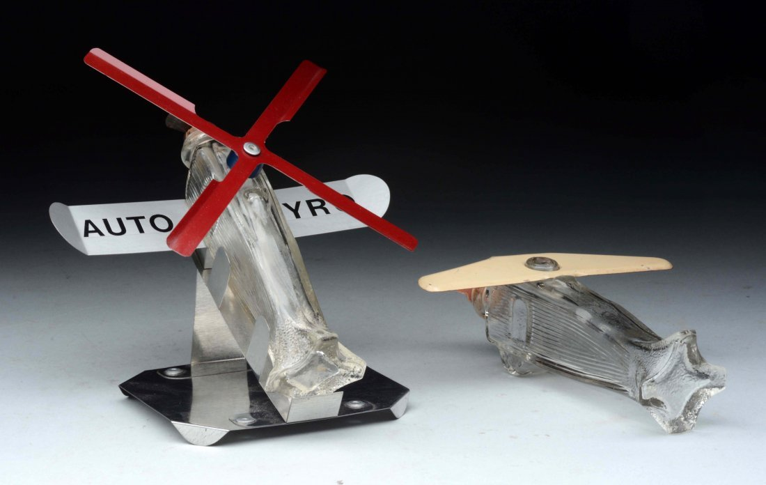 Lot Of 2: Airplane Candy Containers. - 2