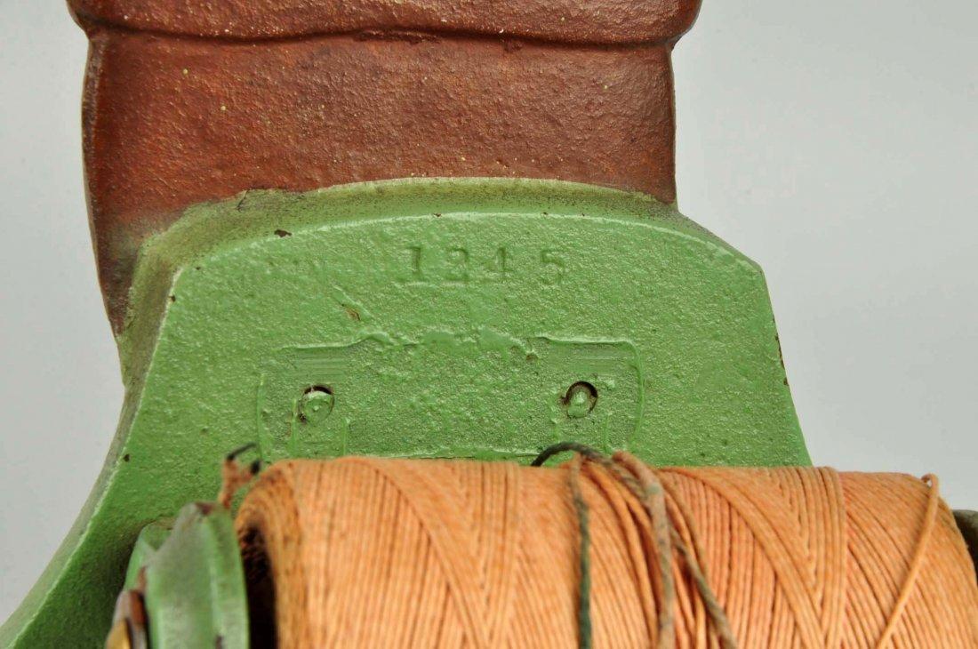 Cast Iron Pilgrim Boy Figural Stringholder. - 3