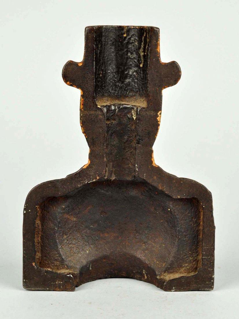 Cast Iron Black Minstrel Dandy Doorstop. - 2
