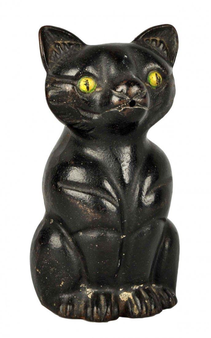 Cast Iron Fat Cat Stringholder.