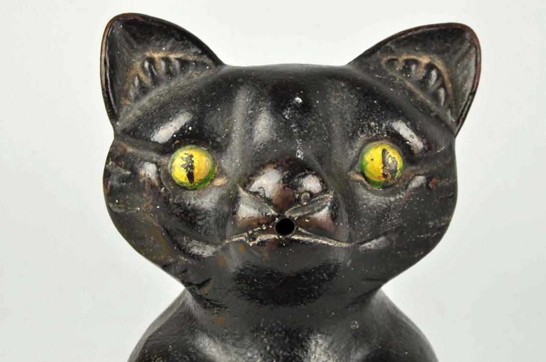 Cast Iron Fat Cat Stringholder. - 4
