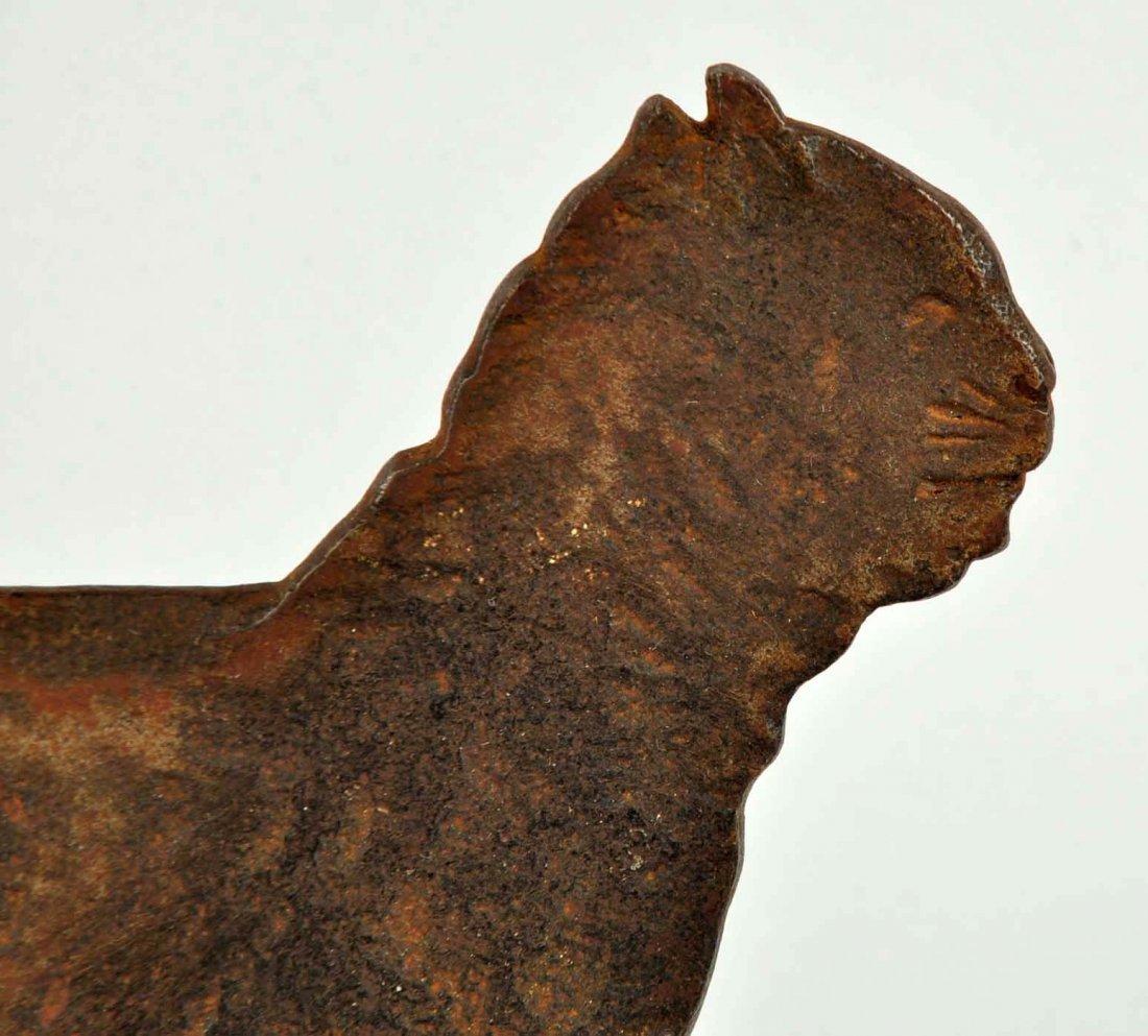 Cast Iron Cat Foot Scraper. - 5