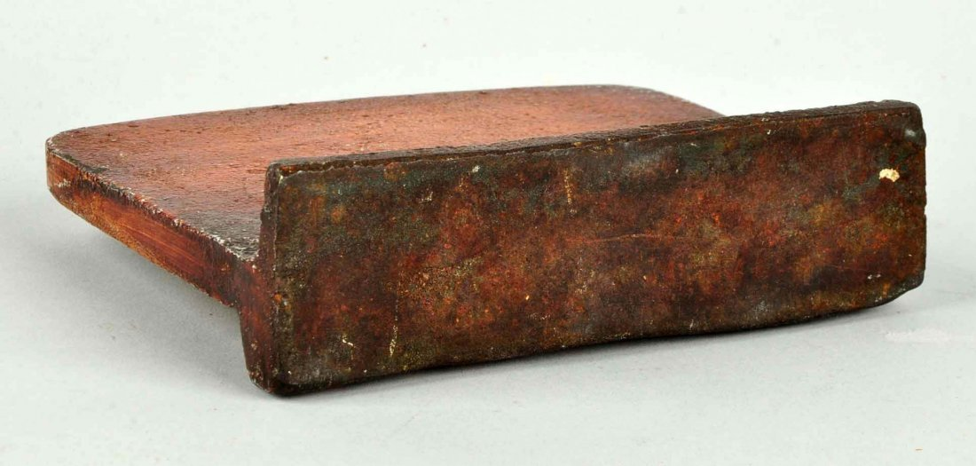 Cast Iron Old Curiosity Shop Wedge Doorstop. - 3