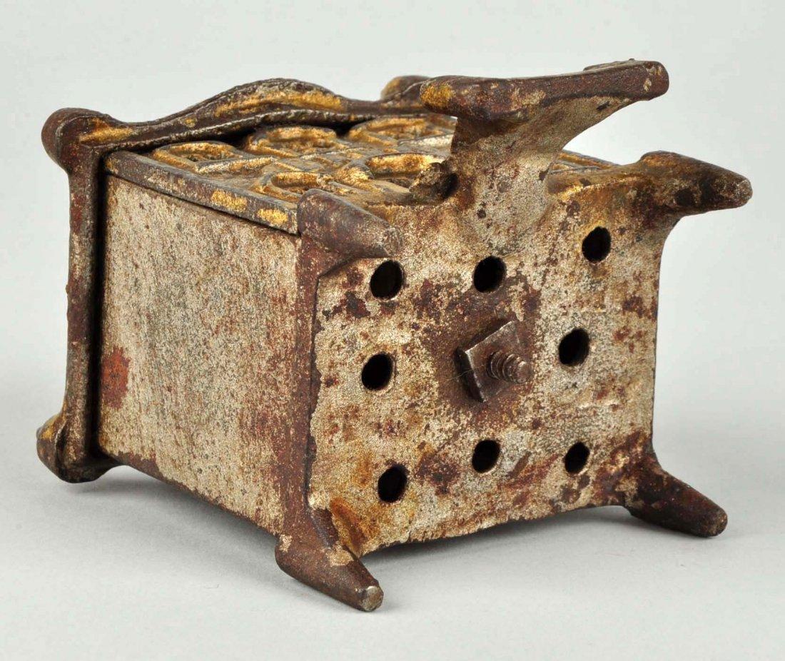 English Pagoda Cast Iron Still Bank. - 3