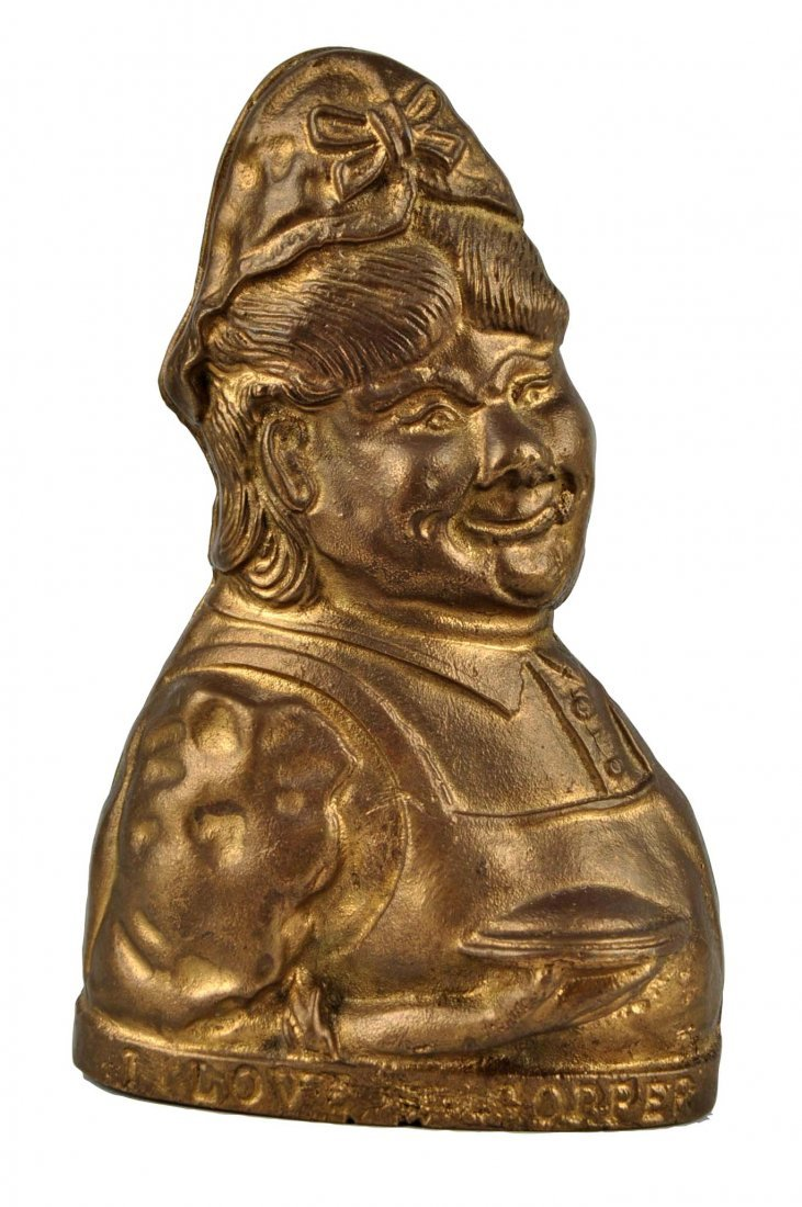 I Love a Copper Brass Still Bank.