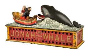 Jonah  the Whale Mechanical Bank