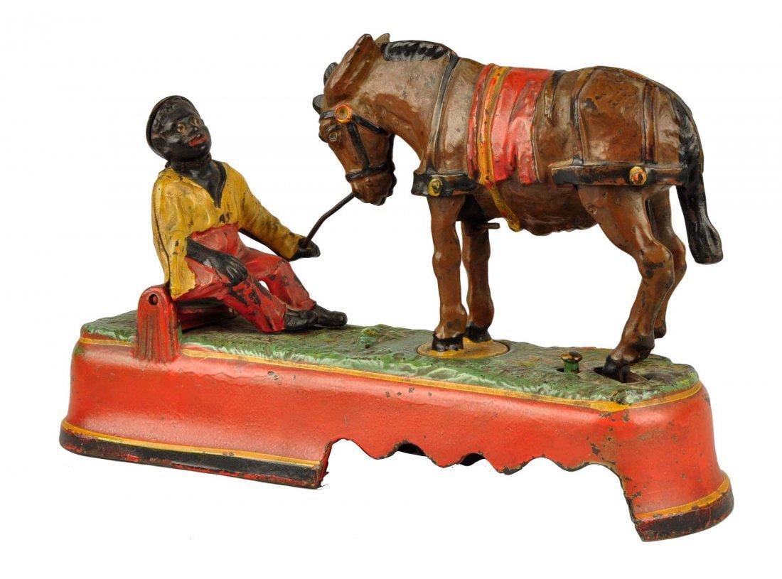 I Always Did 'Spise a Mule Mechanical Bank.