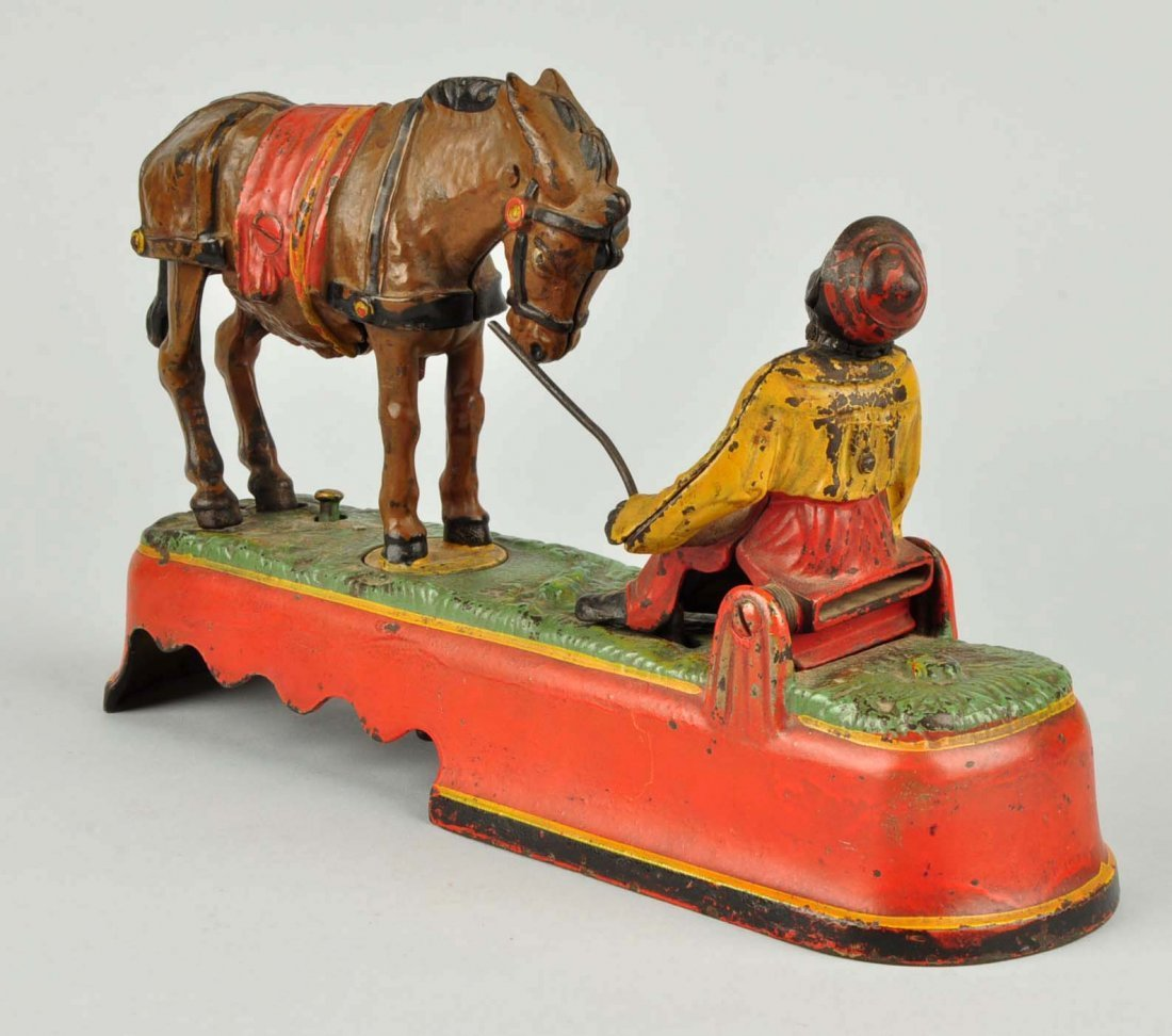 I Always Did 'Spise a Mule Mechanical Bank. - 2
