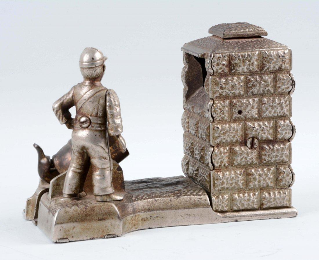 Artillery Cast Iron Mechanical Bank. - 2