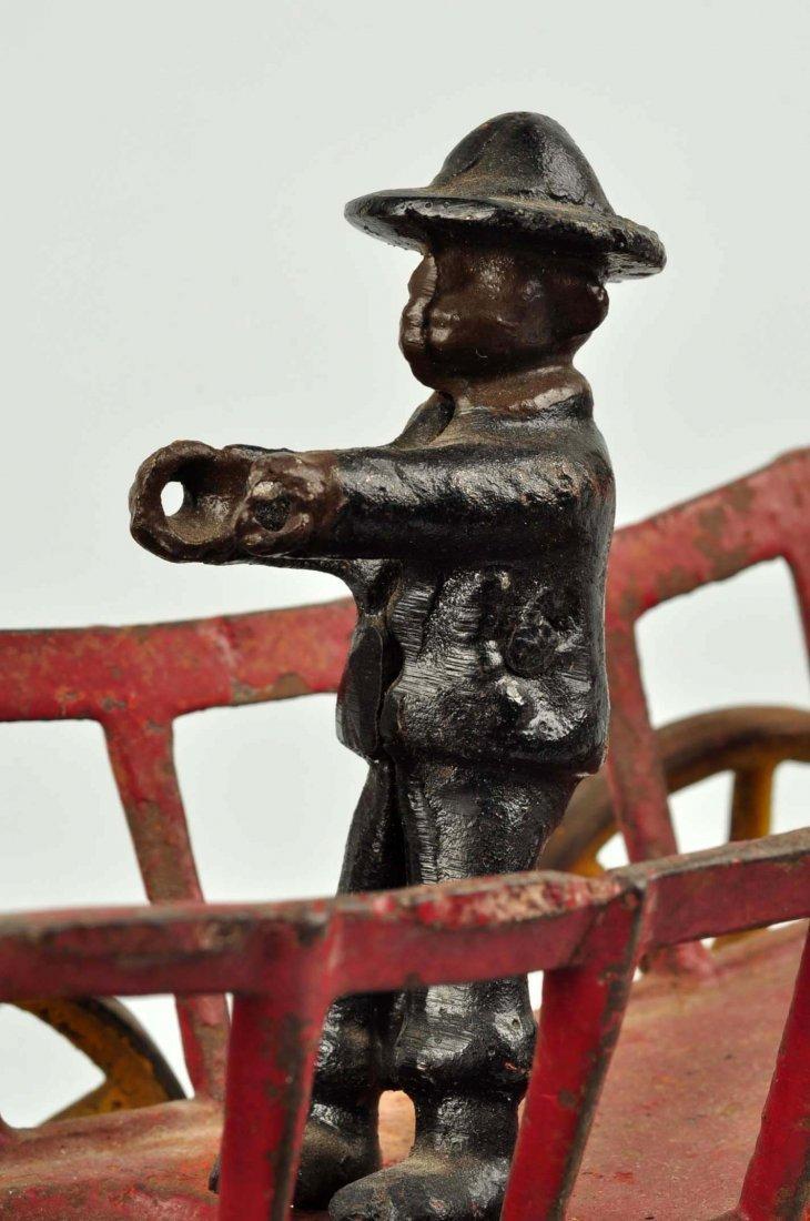 Kenton Cast Iron Oxen Drawn Cart Toy. - 4