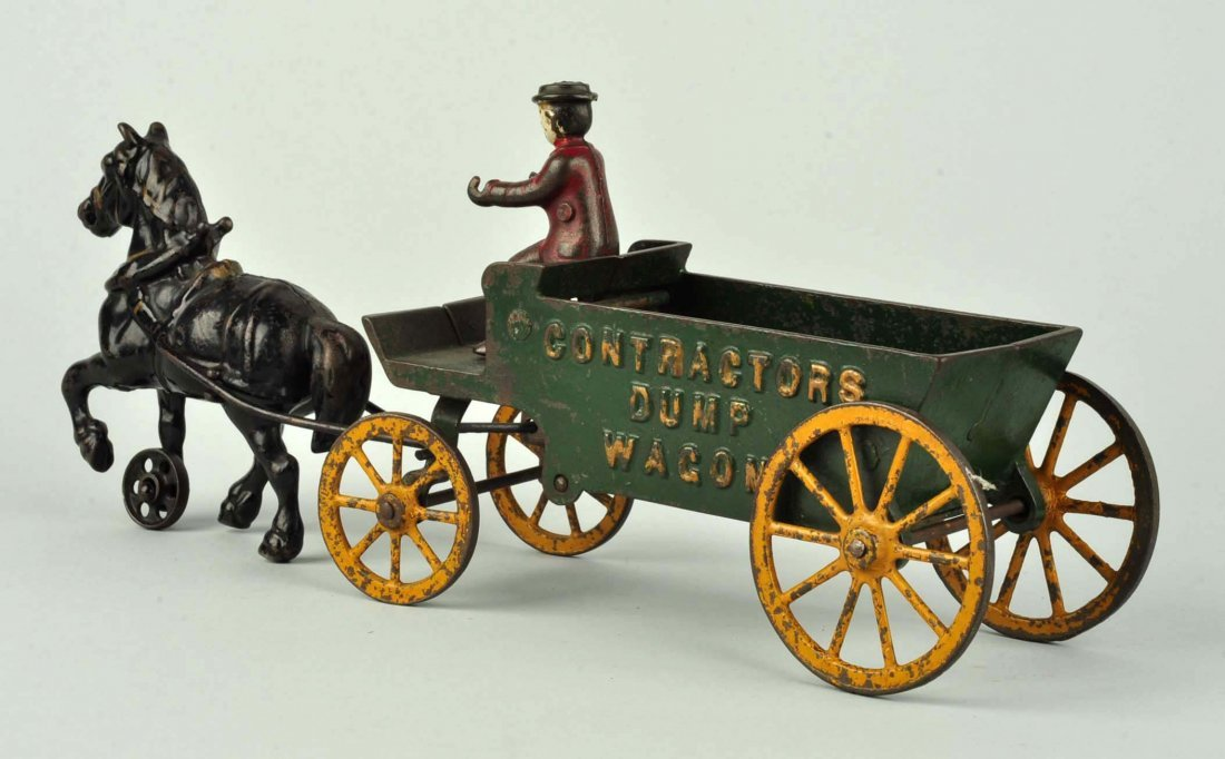 Kenton Cast Iron Contractor's Dump Wagon. - 2