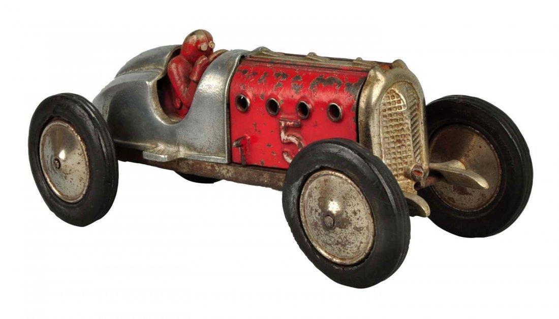 Hubley Cast Iron Race Car #5.