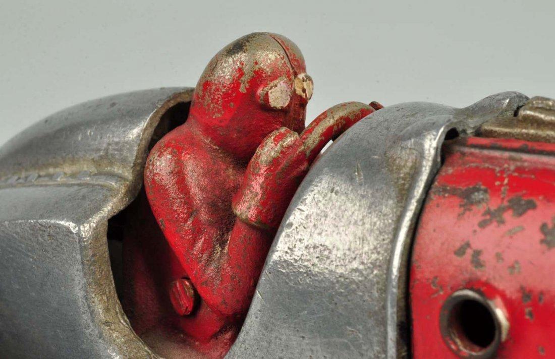 Hubley Cast Iron Race Car #5. - 5