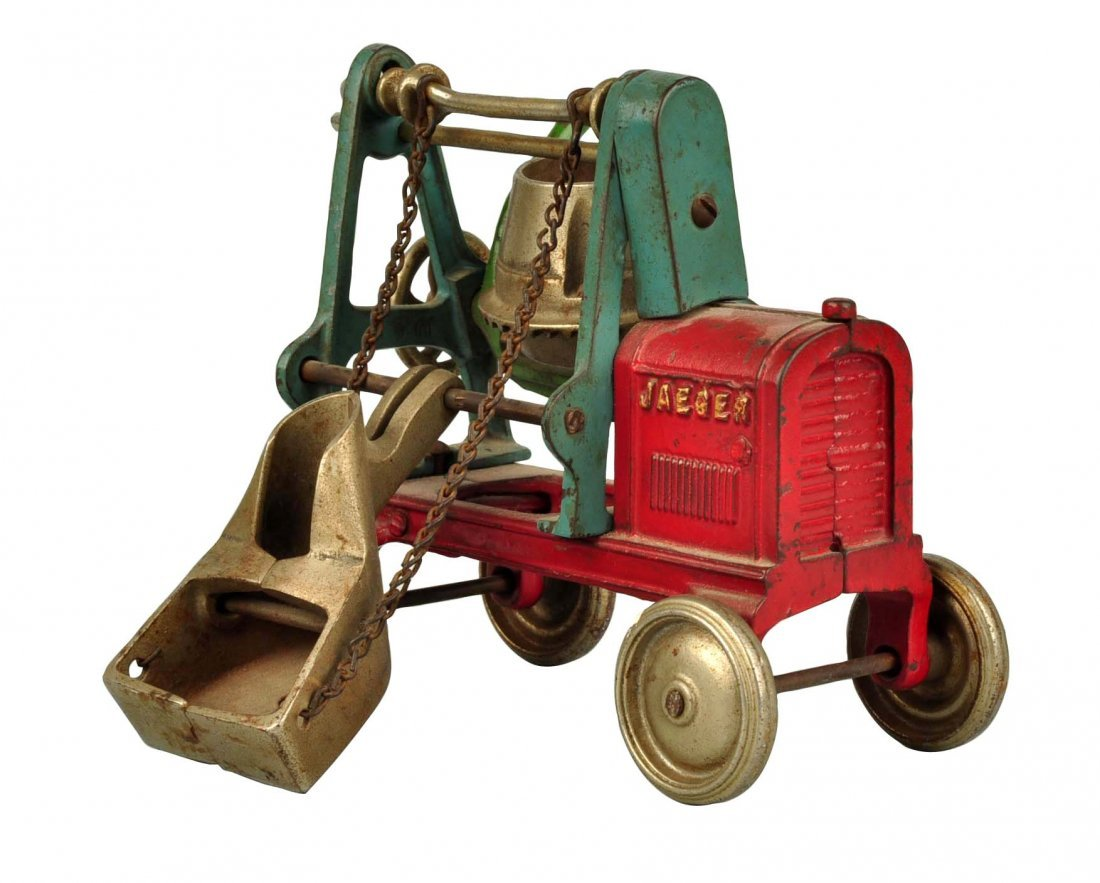 Cast Iron Kenton Jaeger Cement Mixer.
