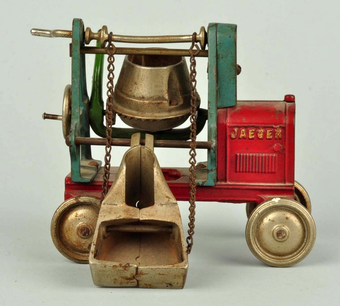 Cast Iron Kenton Jaeger Cement Mixer. - 4