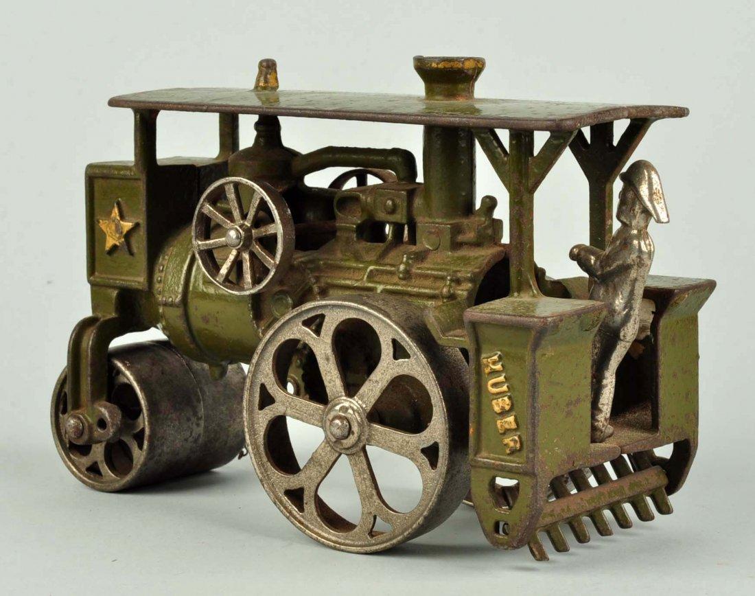 Cast Iron Huber Steam Roller. - 2