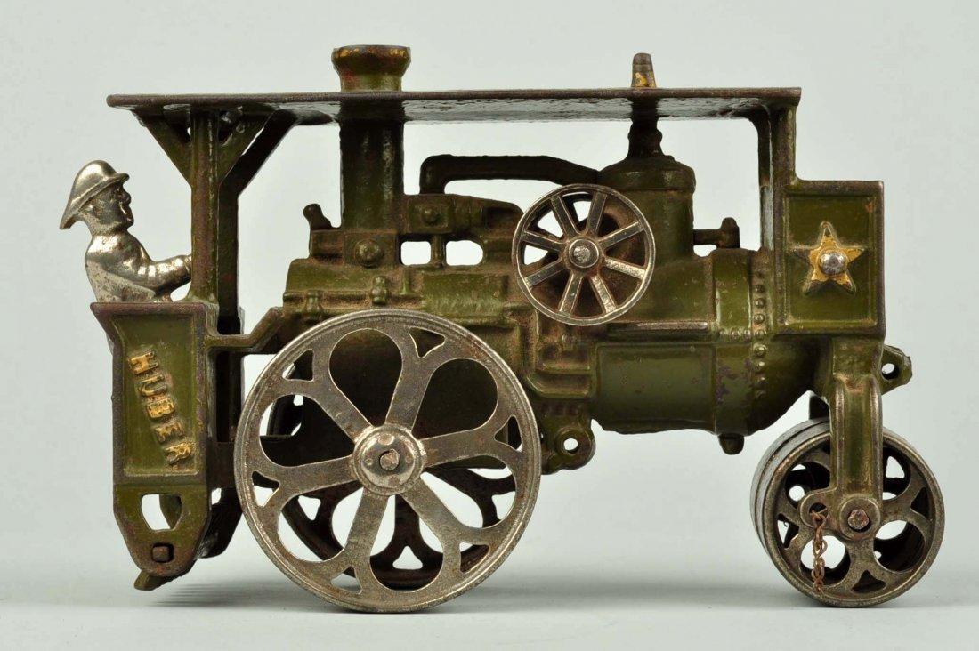 Cast Iron Huber Steam Roller. - 4