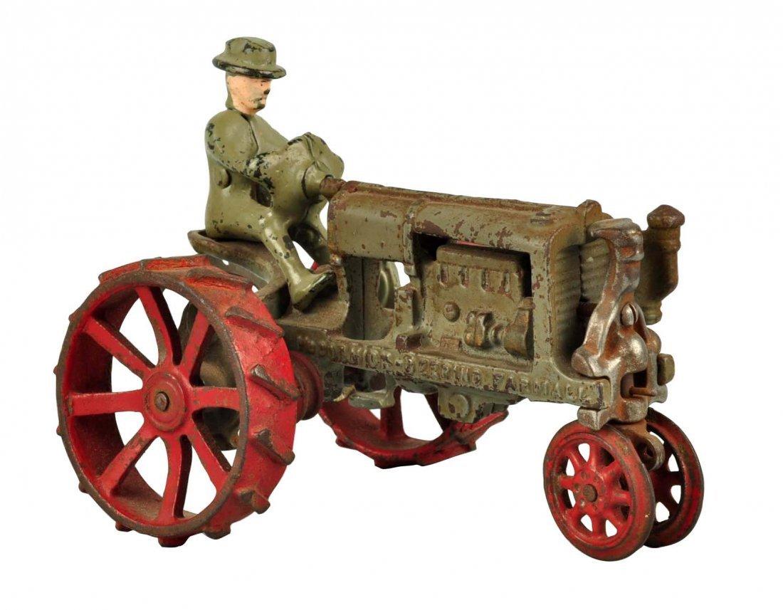 Arcade McCormick-Deering Cast Iron Tractor.