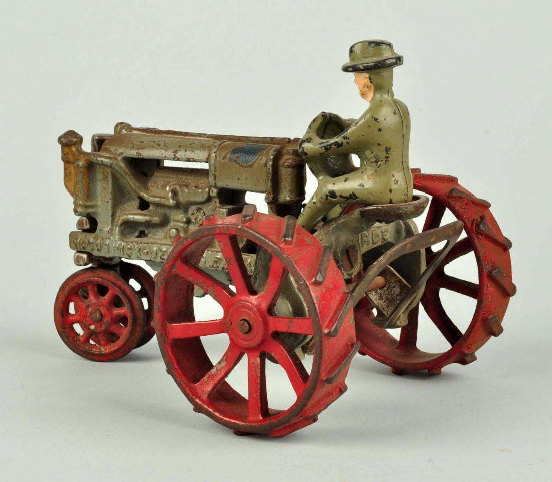 Arcade McCormick-Deering Cast Iron Tractor. - 2