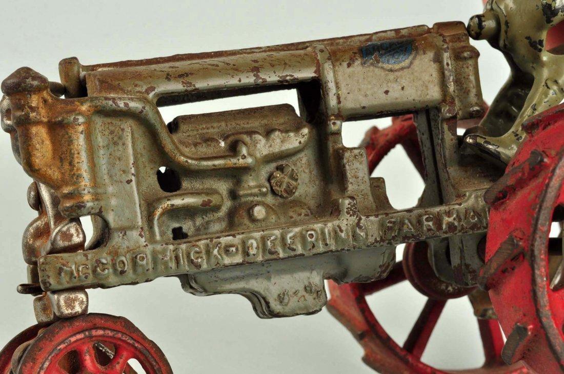 Arcade McCormick-Deering Cast Iron Tractor. - 4