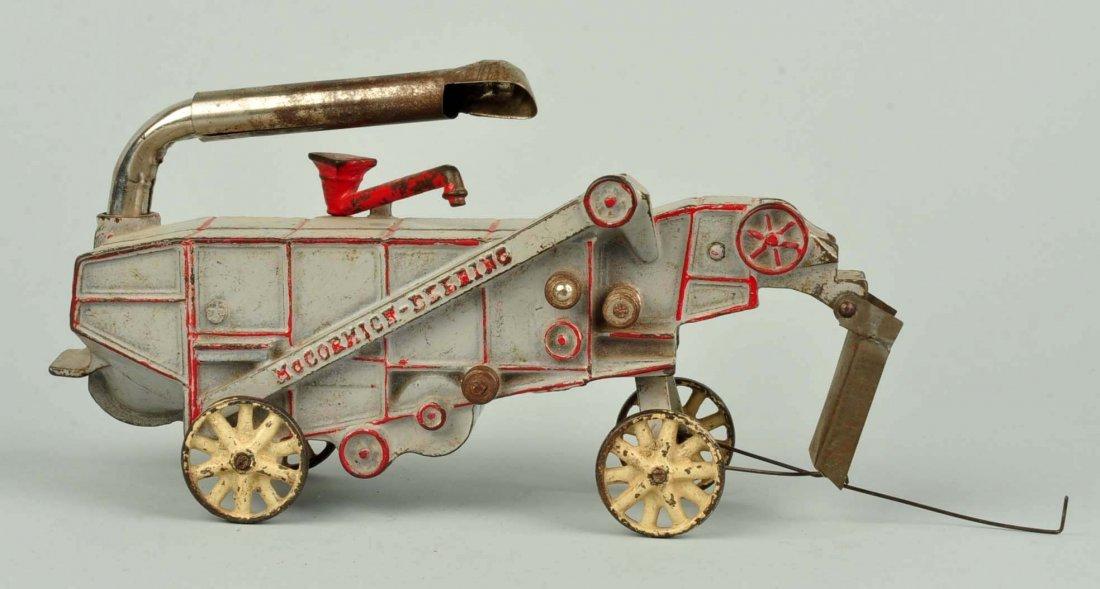 Cast Iron McCormick Deering Farm Thresher Machine. - 2