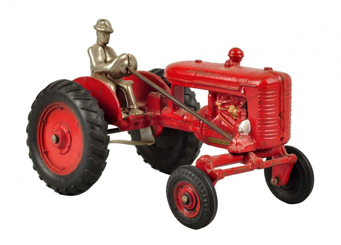 Offset Culti-Vision Farmall Red Tractor.