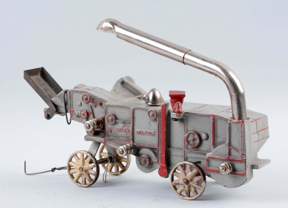 Cast Iron McCormick Deering Threshing Machine. - 2