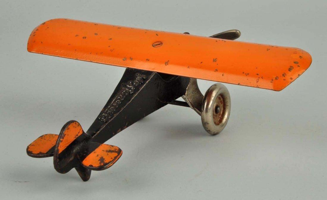 Arcade Cast Iron Monocoupe Airplane. - 2