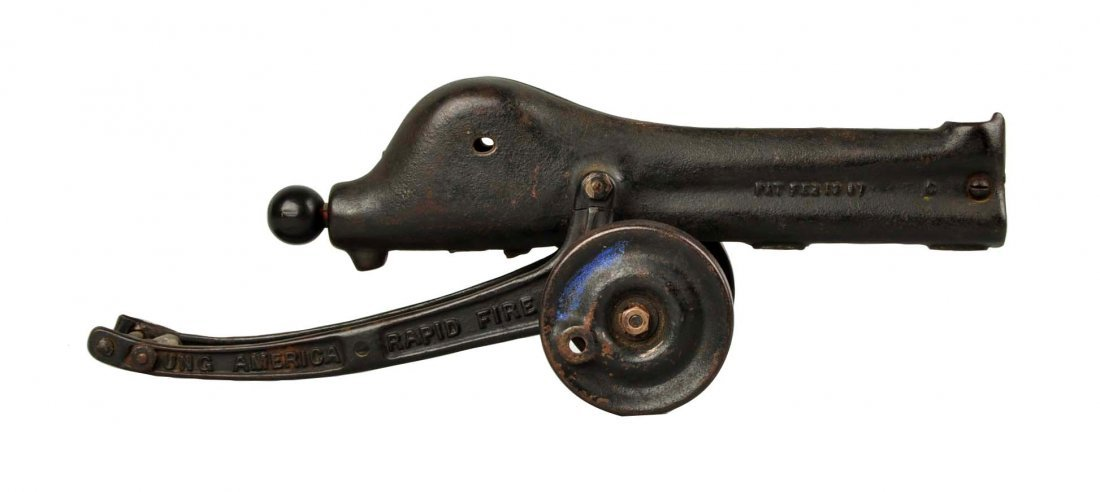 Early Cast Iron Young America Rapid Fire Gun.