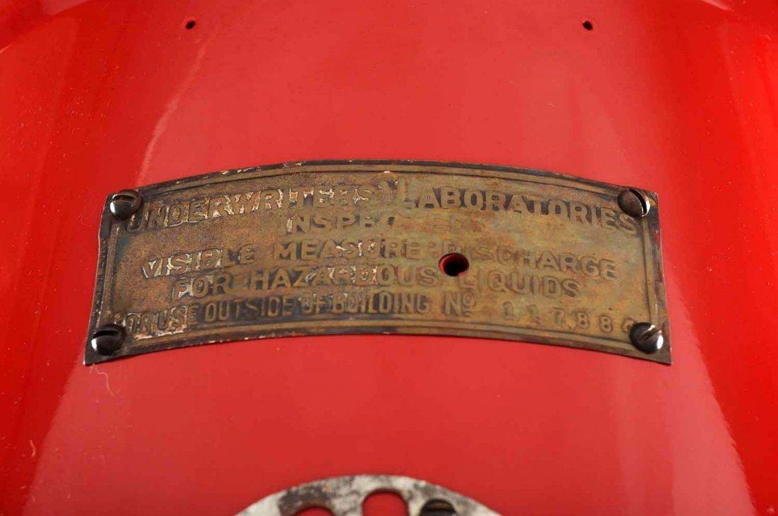 G&B #176 Five Gallon Visible Gas Pump. - 3