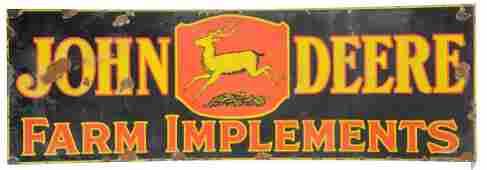 John Deere Sign.
