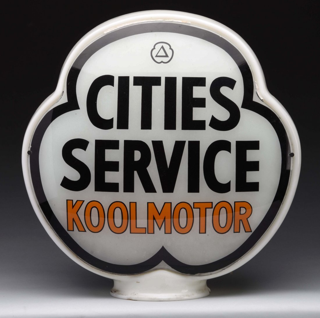 Cities Service Koolmotor Clover Globe Lenses. - 2