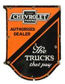 """Chevrolet Authorized Dealer """"The Truck That Pays"""""""