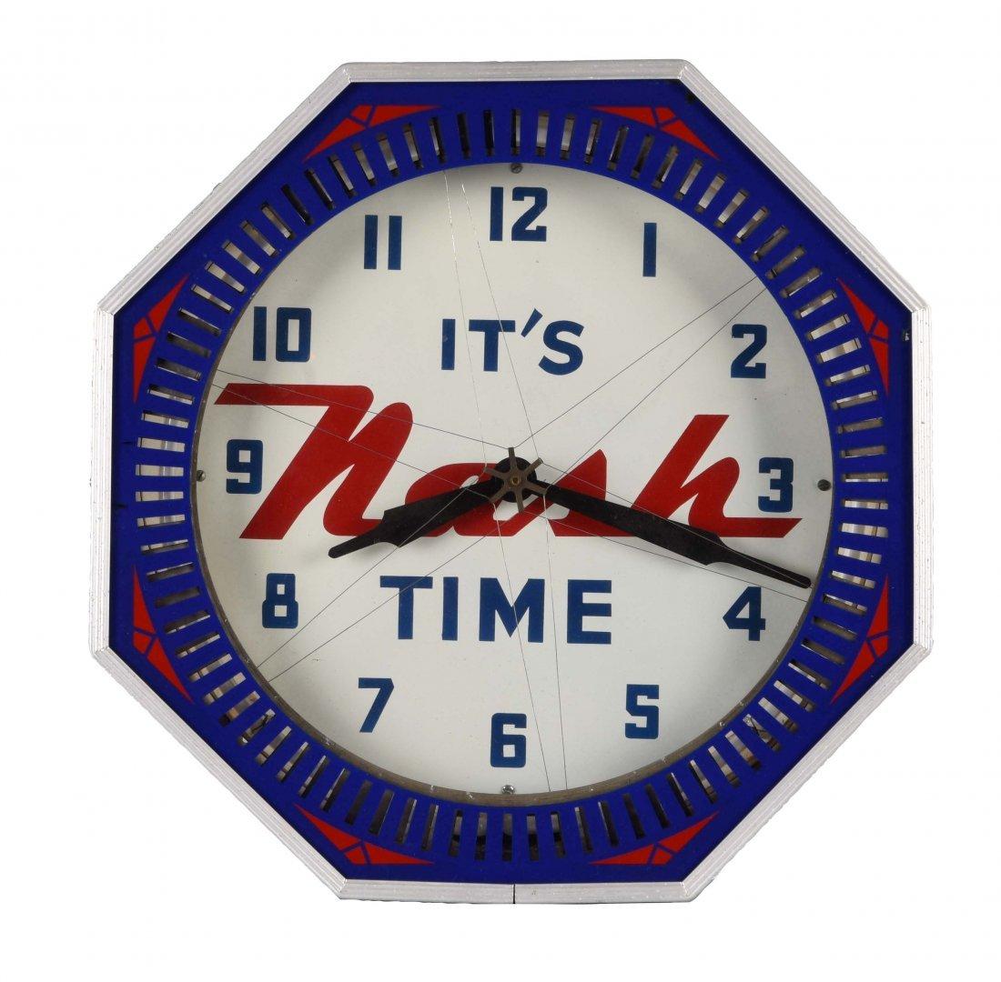 It's Nash Time Neon Clock, Restored.