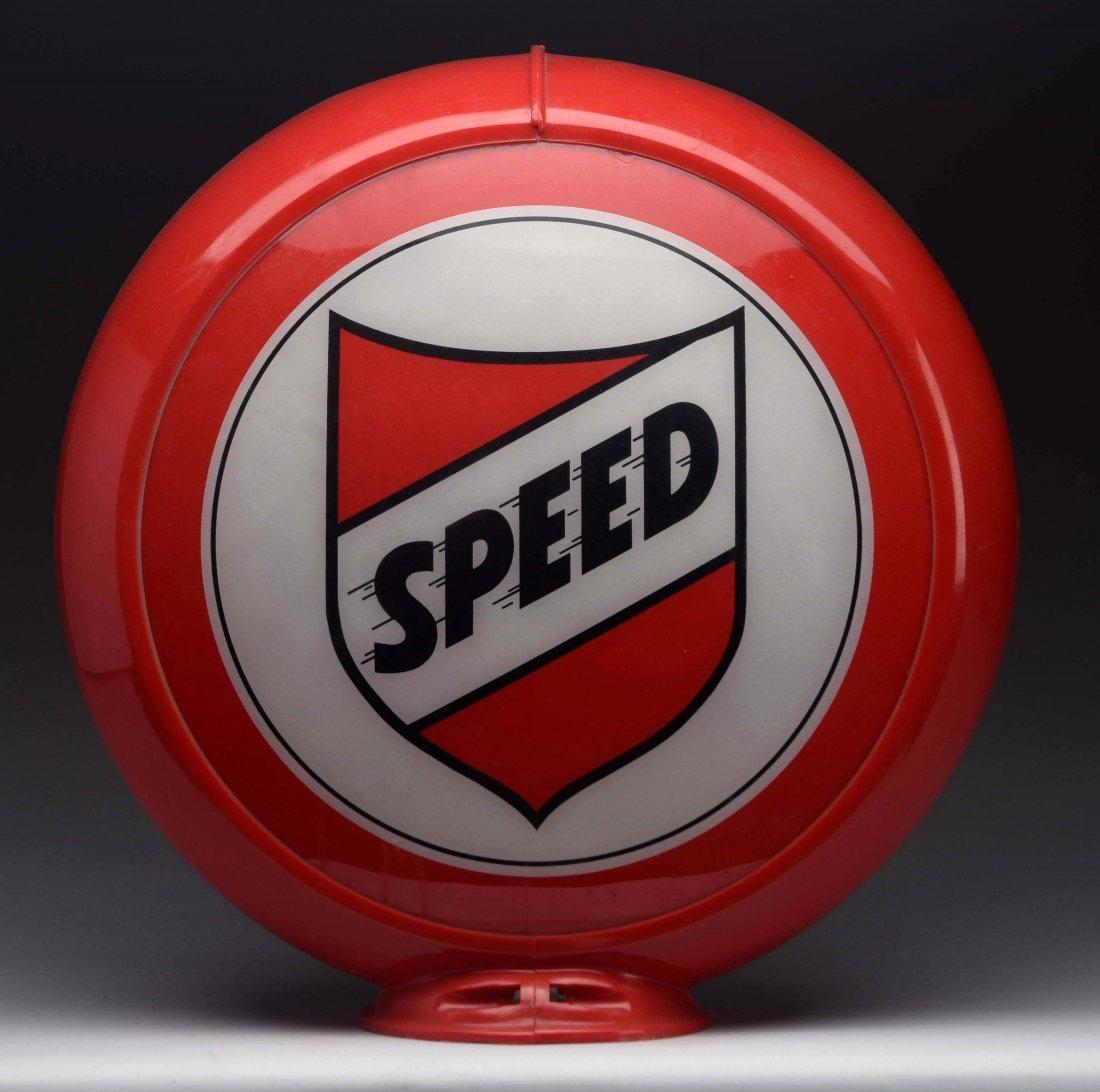"""Speed (Bay) 13-1/2"""" Globe Lenses."""